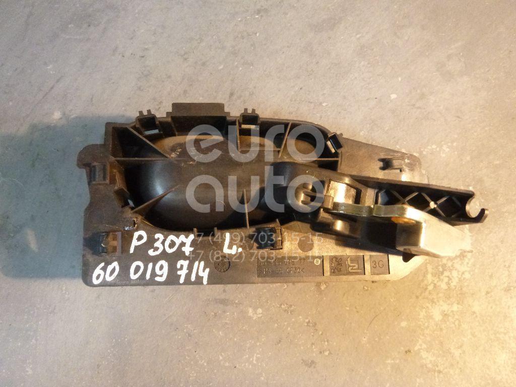 Ручка двери внутренняя левая для Peugeot 307 2001-2008 - Фото №1