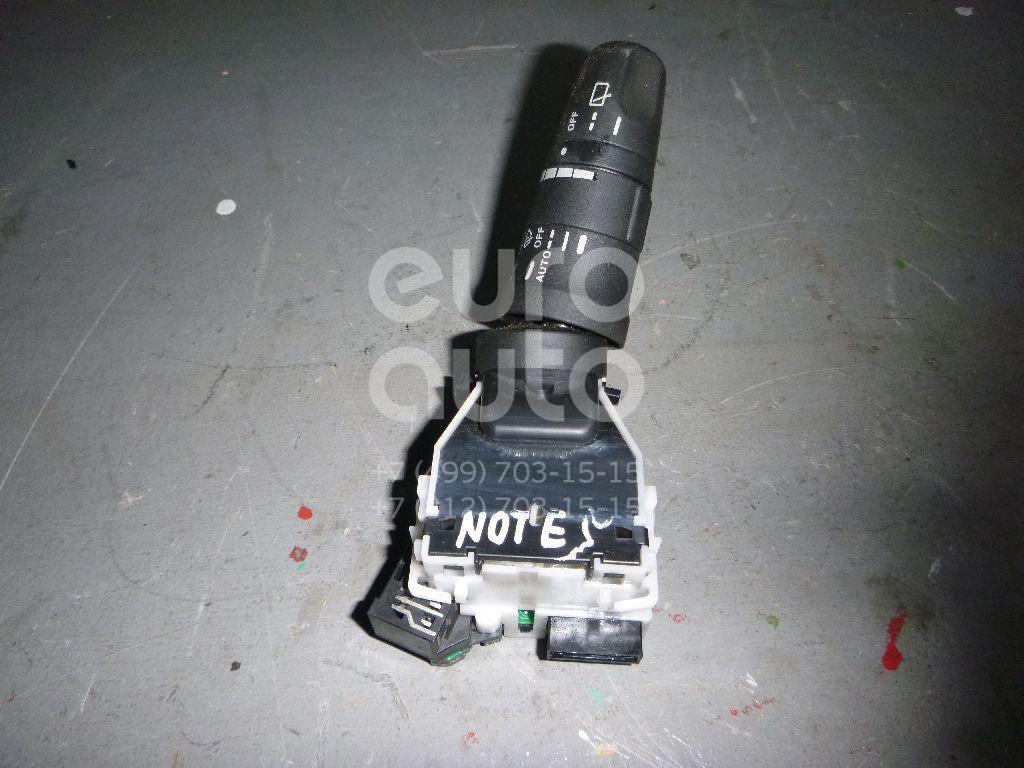 Переключатель стеклоочистителей для Nissan Note (E11) 2006-2013;Micra (K12E) 2002-2010 - Фото №1