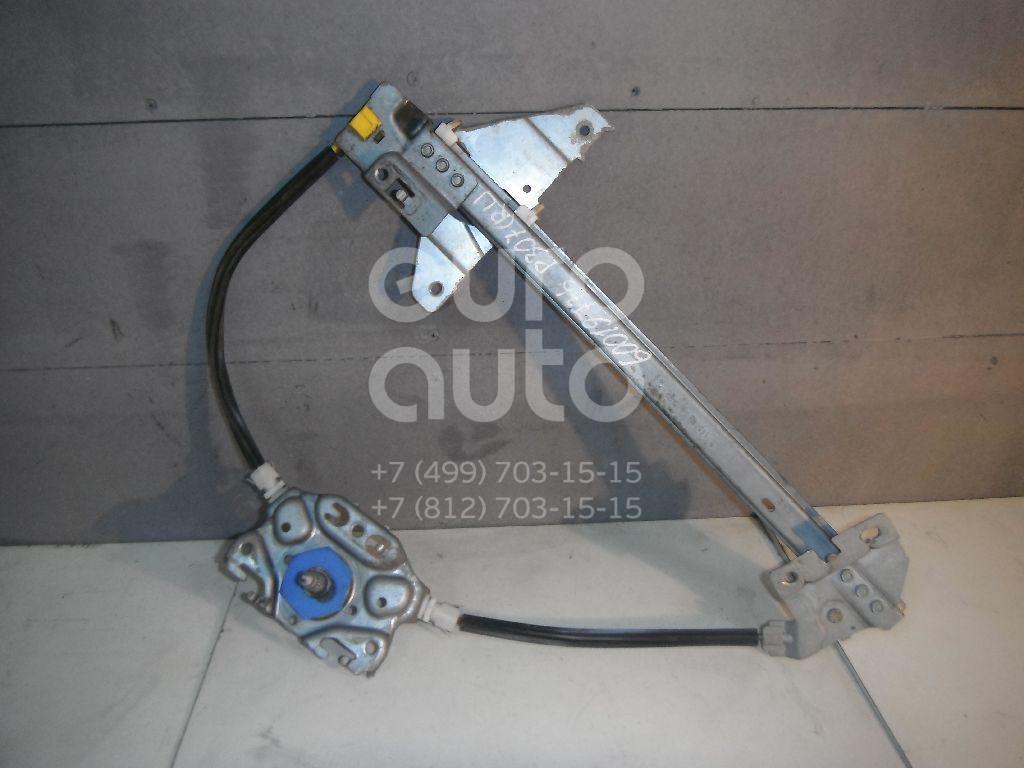 Стеклоподъемник механ. задний левый для Peugeot 307 2001-2007 - Фото №1