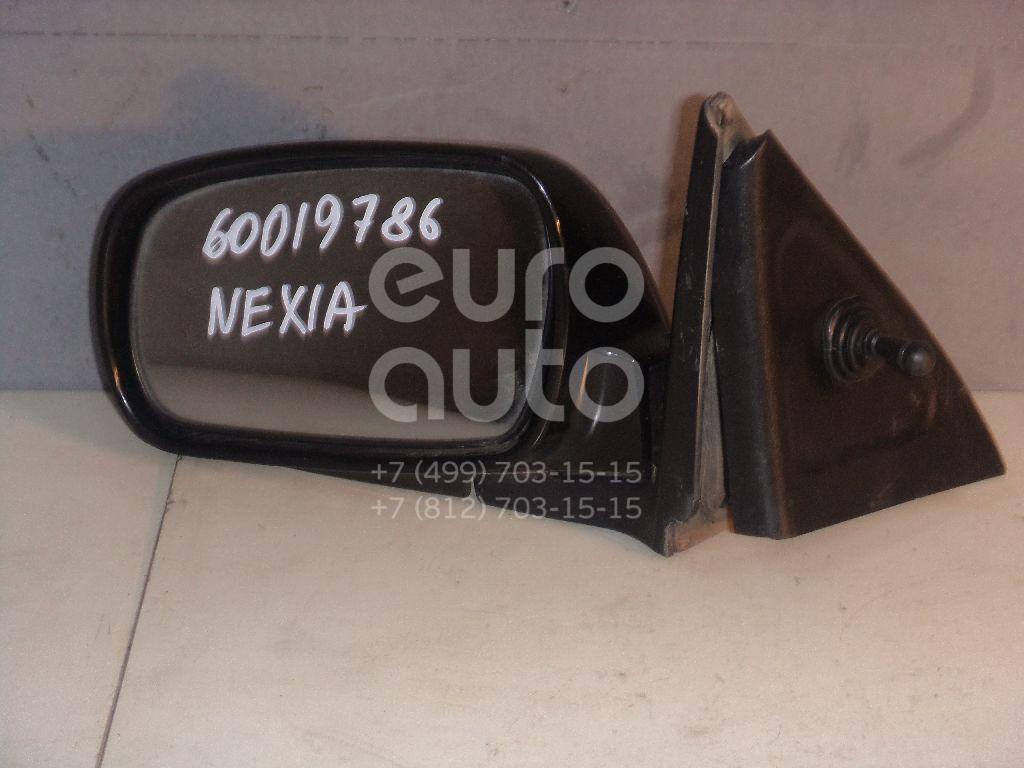 Зеркало левое механическое для Daewoo Nexia 1995-2016 - Фото №1