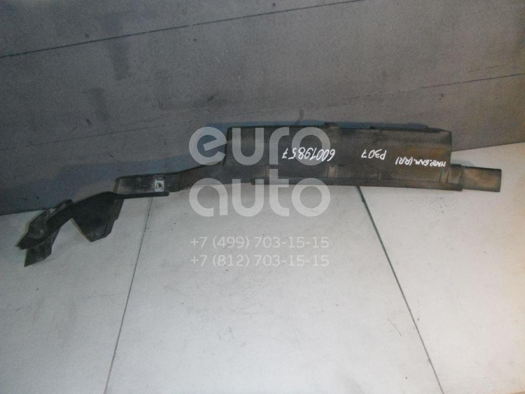 Направляющая заднего бампера правая для Peugeot 307 2001-2007 - Фото №1