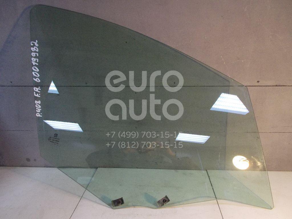 Стекло двери передней правой для Peugeot 408 2012> - Фото №1