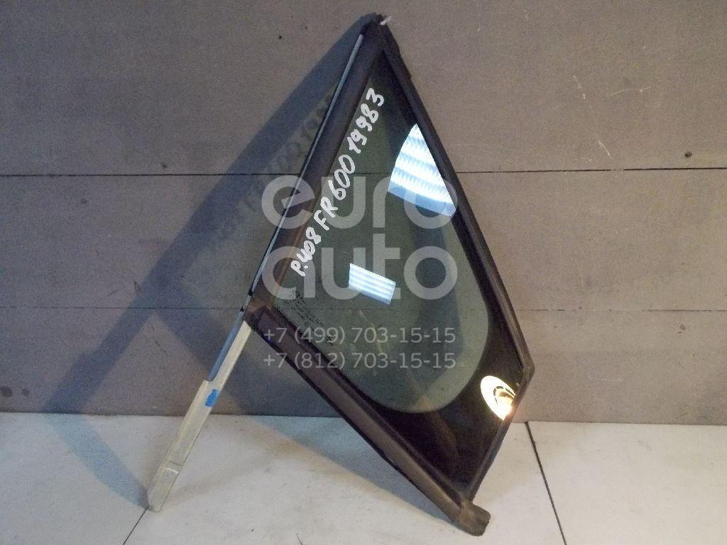 Стекло двери передней правой (форточка) для Peugeot 408 2012> - Фото №1