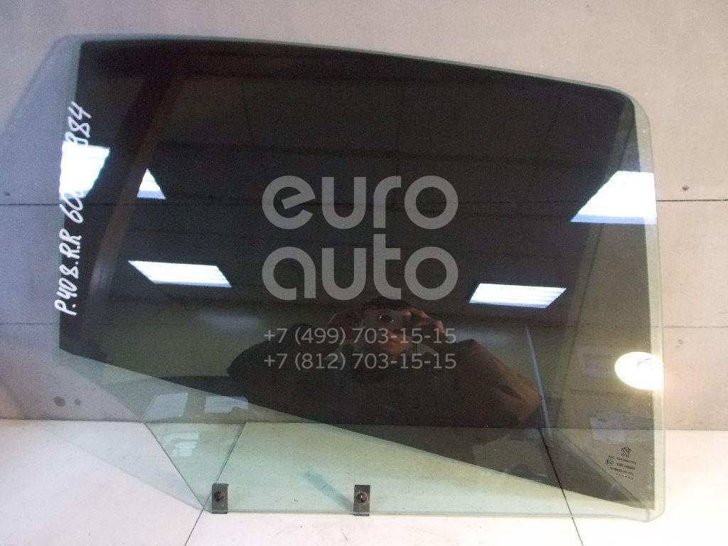 Стекло двери задней правой для Peugeot 408 2012> - Фото №1
