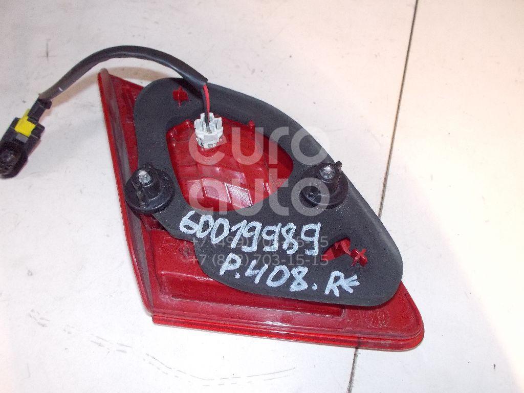 Фонарь задний внутренний правый для Peugeot 408 2012> - Фото №1