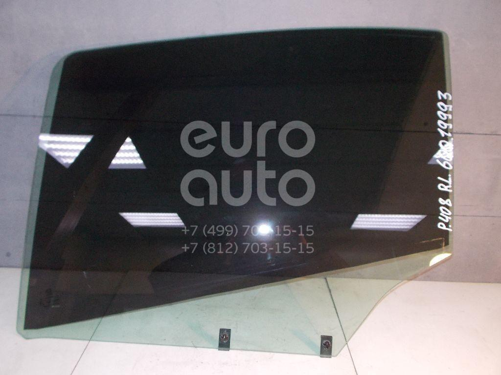 Стекло двери задней левой для Peugeot 408 2012> - Фото №1