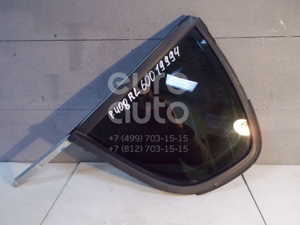 Стекло двери задней левой (форточка) для Peugeot 408 2012> - Фото №1