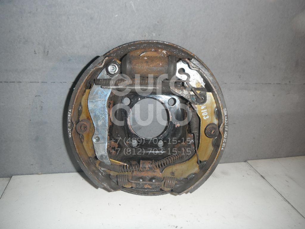 Щит опорный задний левый для Daewoo Nexia 1995> - Фото №1