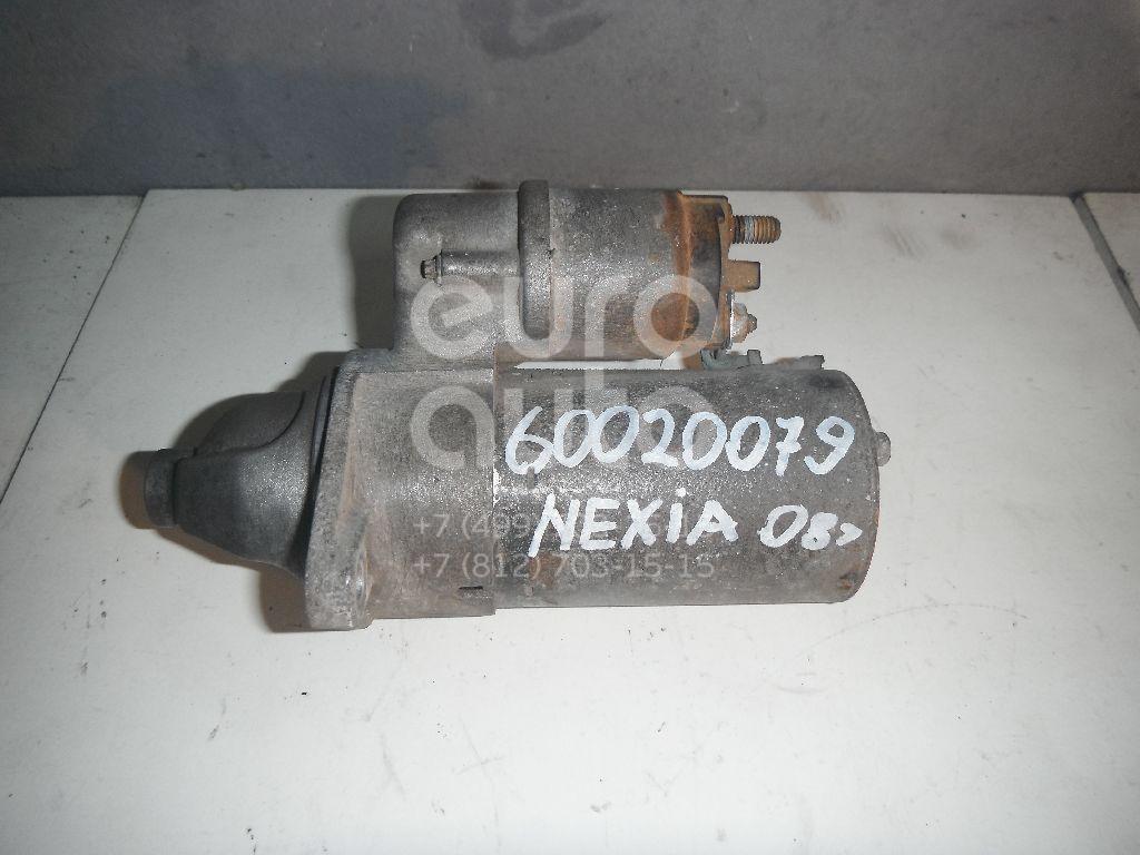 Стартер для Daewoo,Opel Nexia 1995-2016;Espero 1991-1999;Lanos 1997-2009;Astra F 1991-1998;Astra G 1998-2005;Corsa A 1982-1993;Kadett E 1984-1992;Vectra A 1988-1995;Vectra B 1995-1999;Agila A 2000-2008;Astra H / Family 2004-2015 - Фото №1