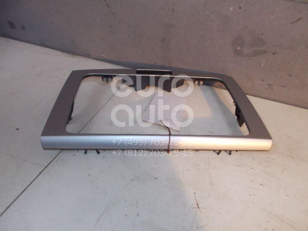 Рамка магнитолы для VW Passat [B7] 2011-2015;Passat CC 2008> - Фото №1