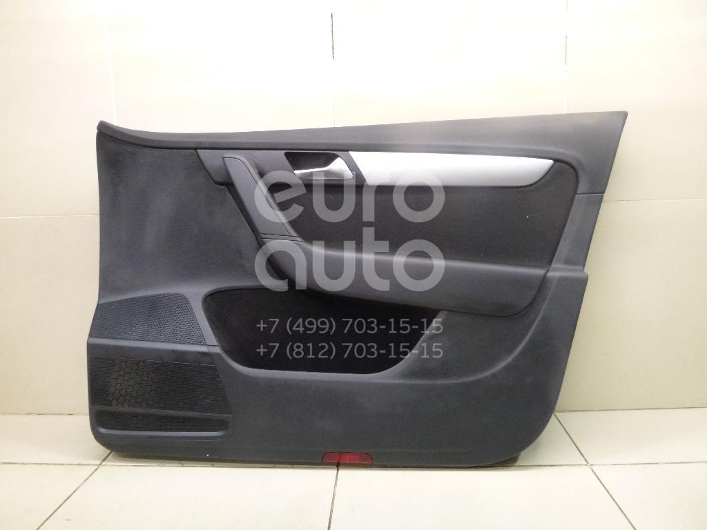 Обшивка двери передней правой для VW Passat [B7] 2011-2015 - Фото №1