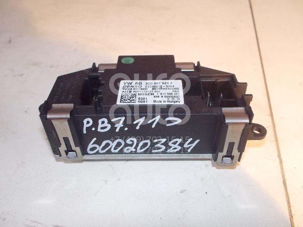 Резистор отопителя для VW,Audi,Skoda,Seat Passat [B7] 2011-2015;Q7 [4L] 2005-2015;Passat [B6] 2005-2010;Golf V 2003-2009;Jetta 2006-2011;Octavia (A5 1Z-) 2004-2013;Altea 2004-2015;Passat CC 2008>;Golf VI 2009-2012 - Фото №1