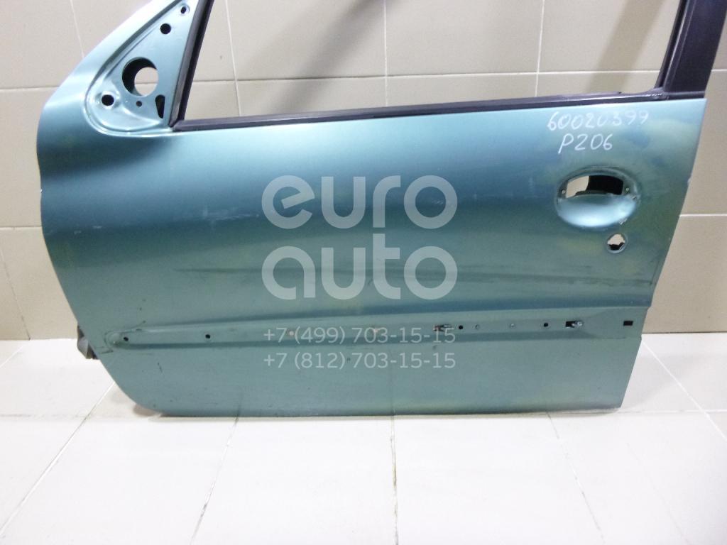 Дверь передняя левая для Peugeot 206 1998-2012 - Фото №1