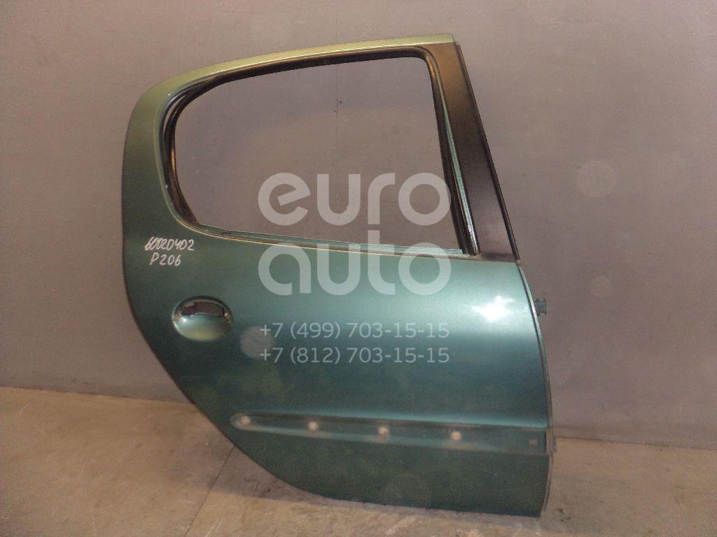 Дверь задняя правая для Peugeot 206 1998> - Фото №1
