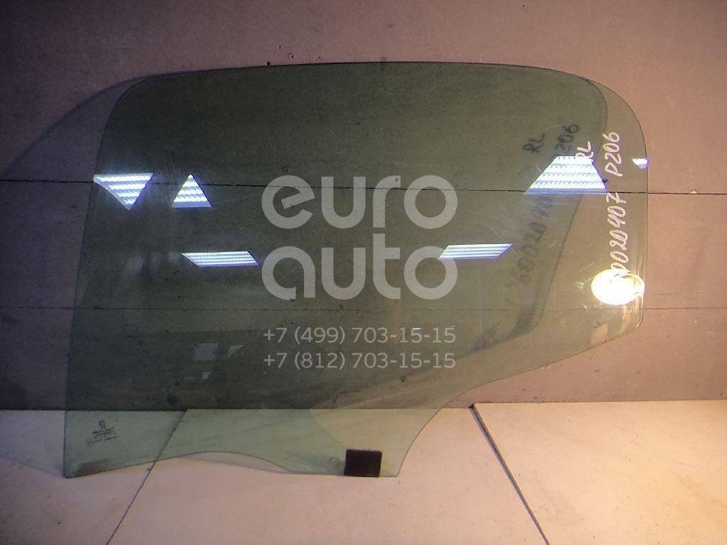 Стекло двери задней левой для Peugeot 206 1998-2012 - Фото №1