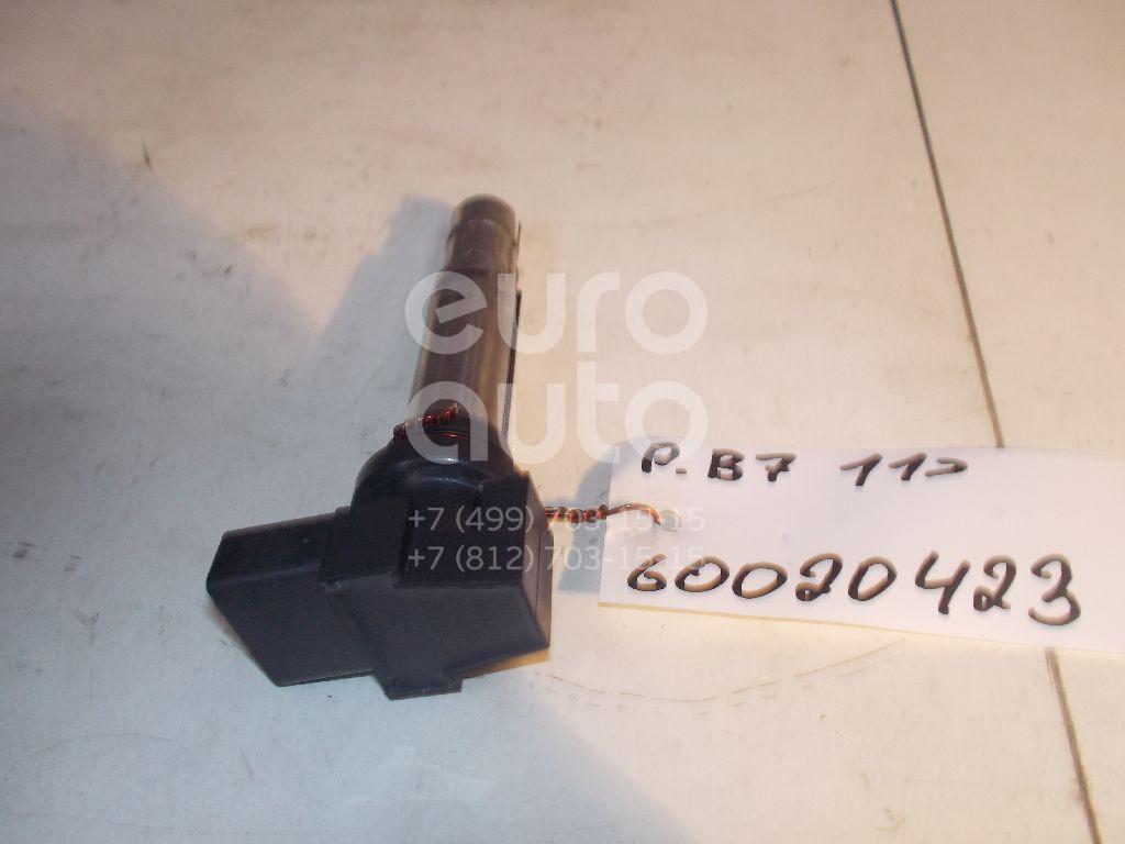 Катушка зажигания для VW,Skoda,Seat Passat [B7] 2011-2015;Octavia (A4 1U-) 2000-2011;Leon (1M1) 1999-2006;Toledo II 1999-2006;Golf IV/Bora 1997-2005;New Beetle 1998-2010;Lupo 1998-2005;Ibiza III 1999-2002;Fabia 1999-2007;Polo 2001-2009 - Фото №1