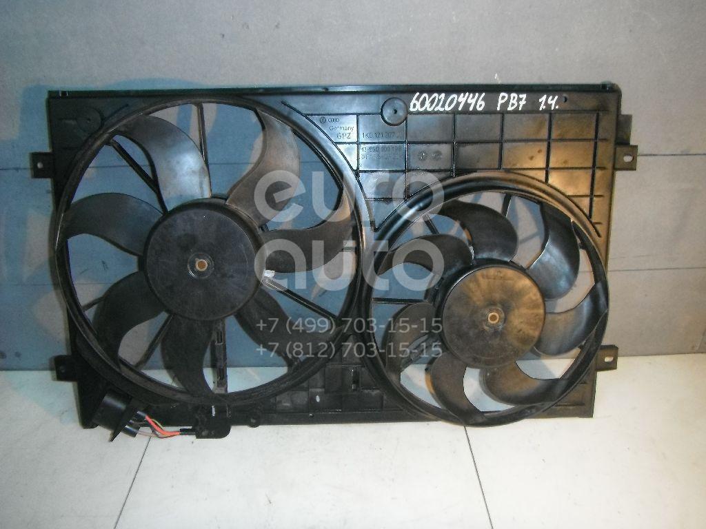 Вентилятор радиатора для VW Passat [B7] 2011-2015 - Фото №1