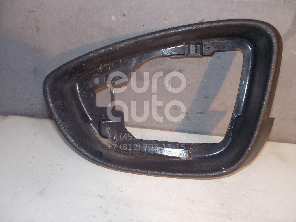 Рамка зеркала левого для VW Passat [B7] 2011-2015;Passat CC 2008>;EOS 2006-2015;Scirocco 2008>;Jetta 2011>;New Beetle 2012> - Фото №1