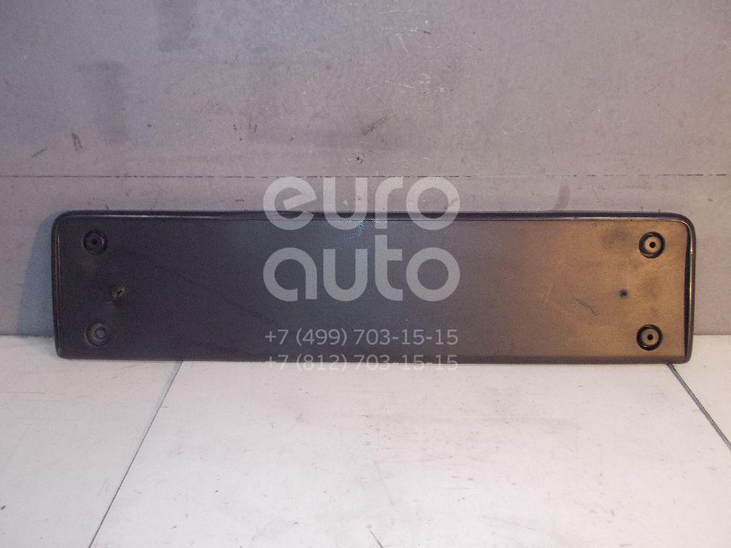 Накладка переднего бампера под номер для VW Passat [B7] 2011> - Фото №1