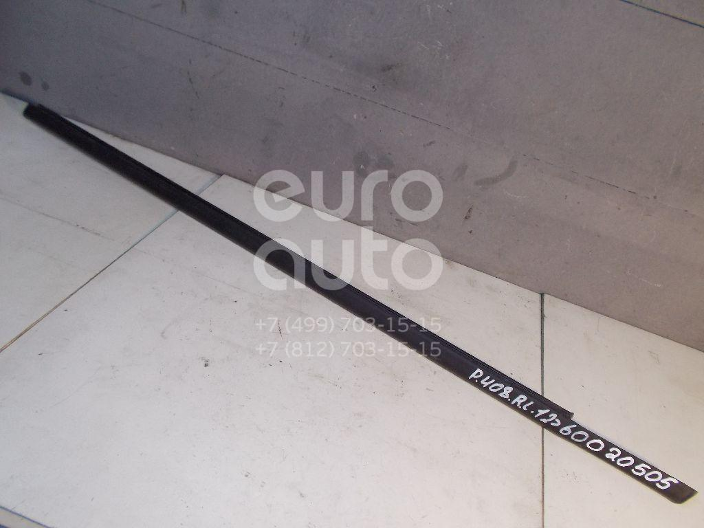 Накладка стекла переднего левого для Peugeot 408 2012> - Фото №1