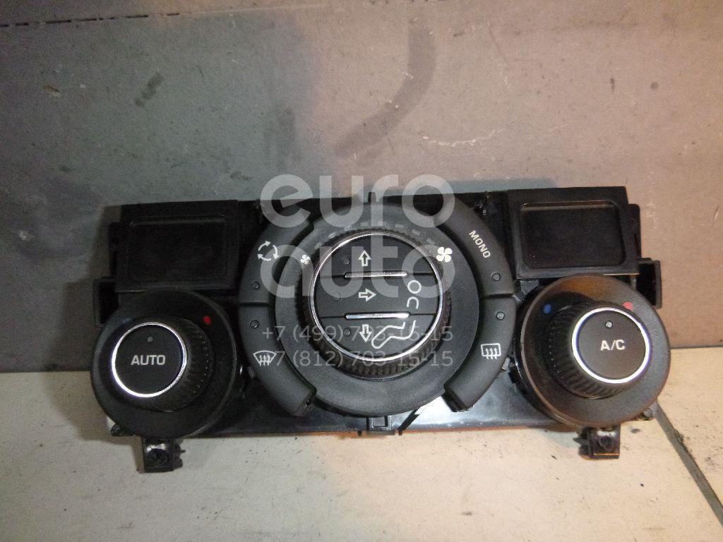 Блок управления климатической установкой для Peugeot 408 2012> - Фото №1