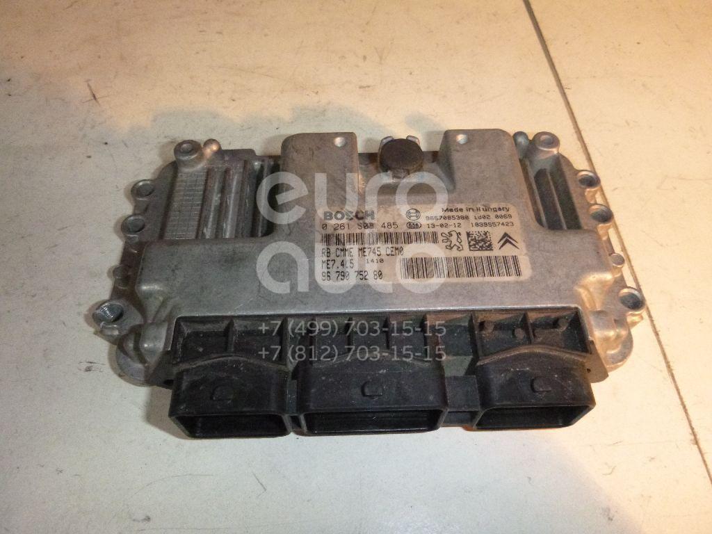 Блок управления двигателем для Peugeot 408 2012> - Фото №1