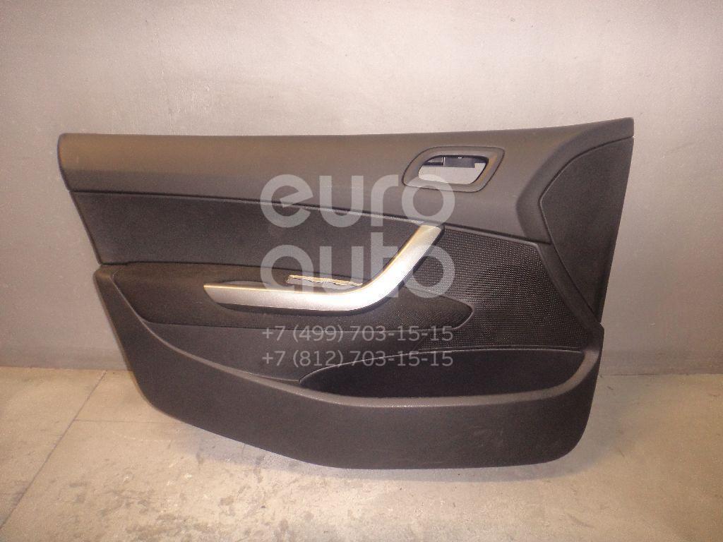 Обшивка двери передней левой для Peugeot 408 2012> - Фото №1