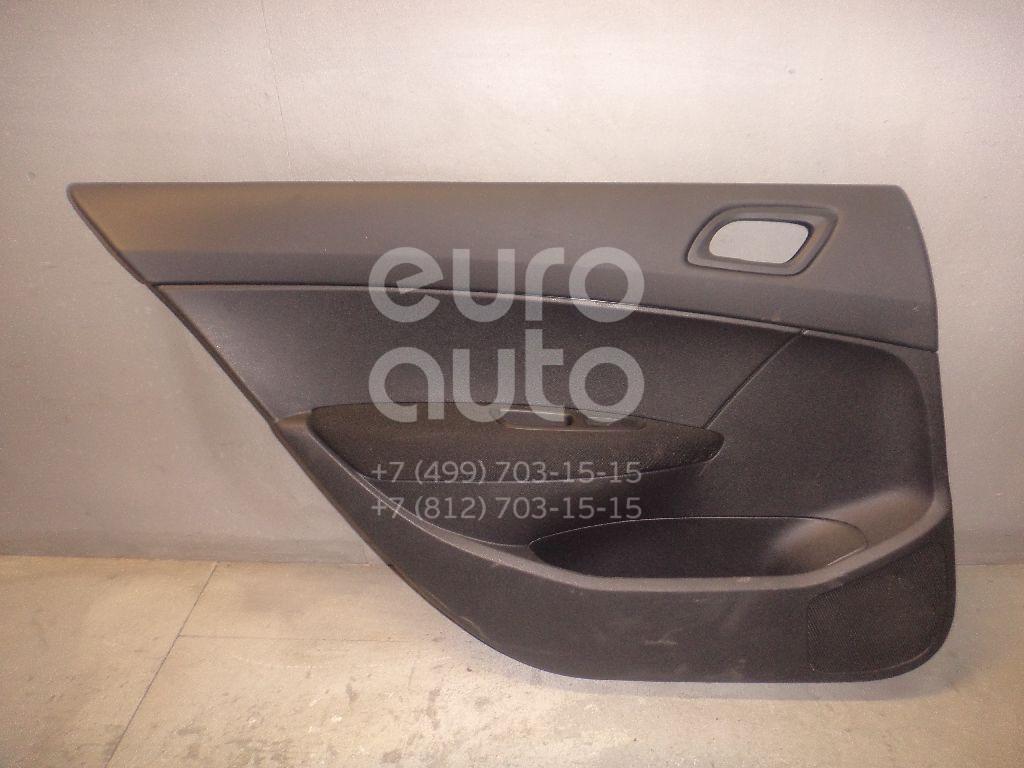 Обшивка двери задней левой для Peugeot 408 2012> - Фото №1