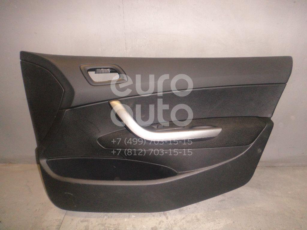 Обшивка двери передней правой для Peugeot 408 2012> - Фото №1