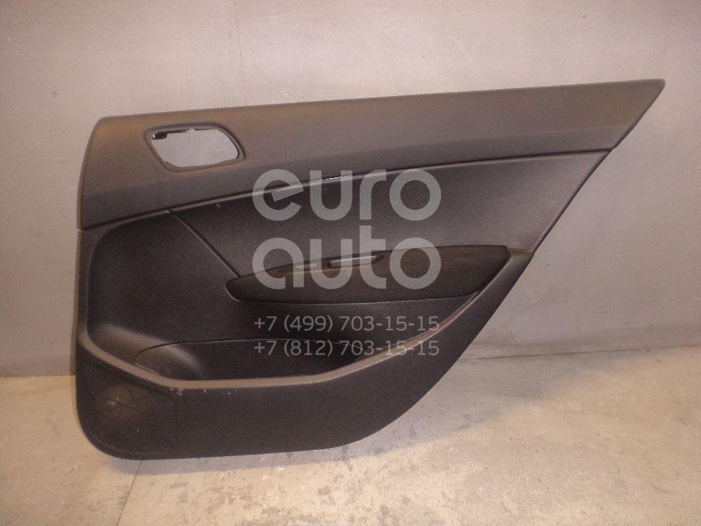 Обшивка двери задней правой для Peugeot 408 2012> - Фото №1