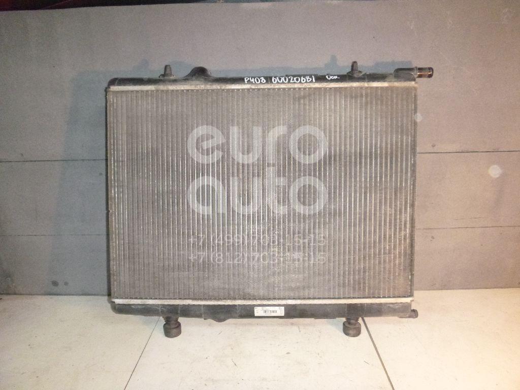 Радиатор основной для Peugeot,Citroen 408 2012>;C4 2005-2011;Xsara 2000-2005;307 2001-2007;Partner 1996-2002;Berlingo(FIRST) (M59) 2002-2012;308 I 2007-2015;Partner (M59) 2002-2010;Berlingo (NEW) (B9) 2008> - Фото №1