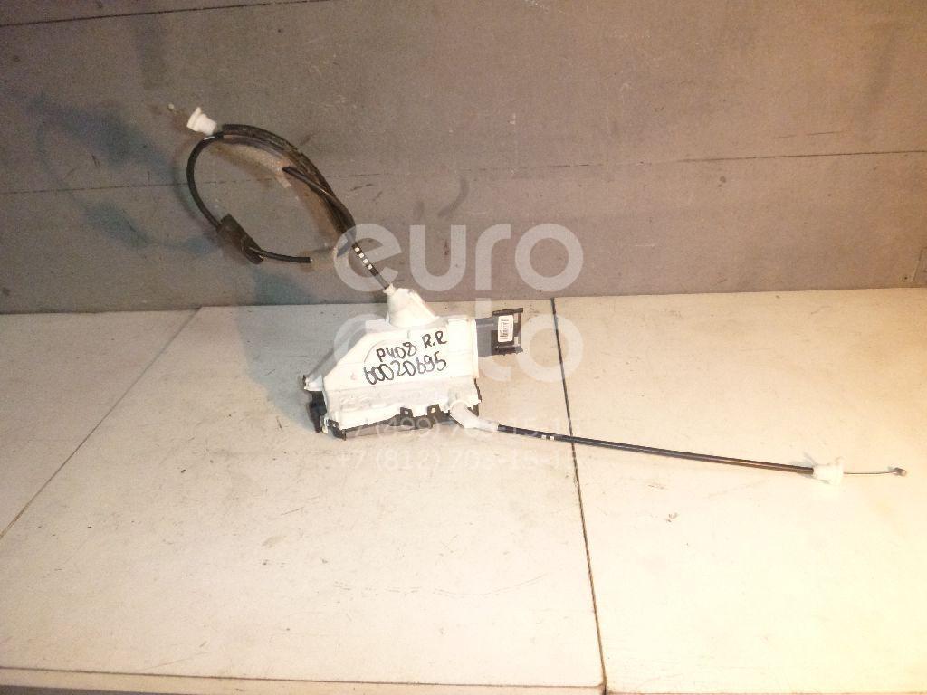 Замок двери задней правой для Peugeot 408 2012> - Фото №1