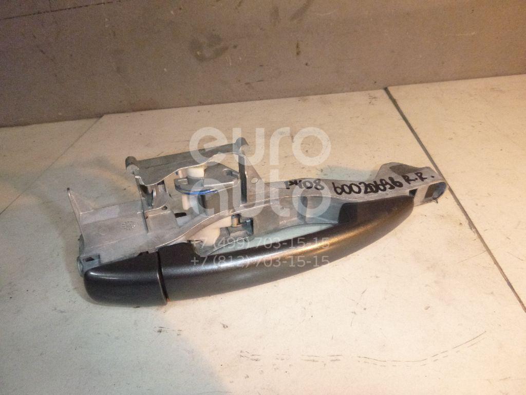 Ручка двери задней наружная правая для Peugeot 408 2012> - Фото №1