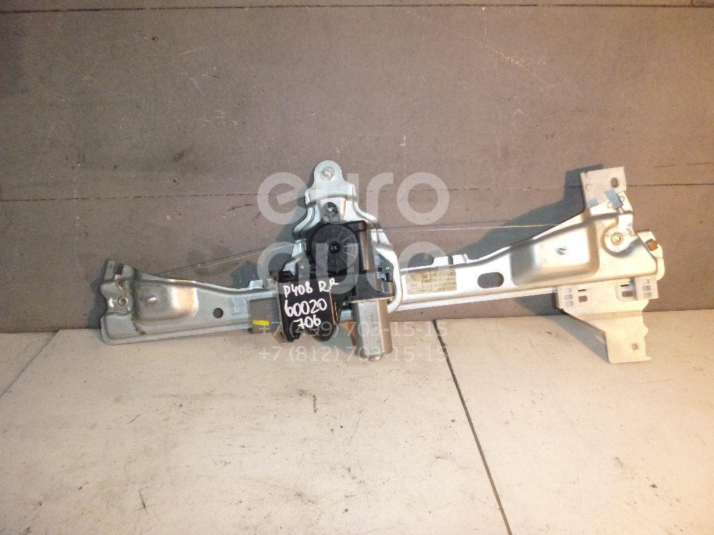 Стеклоподъемник электр. задний правый для Peugeot 408 2012> - Фото №1