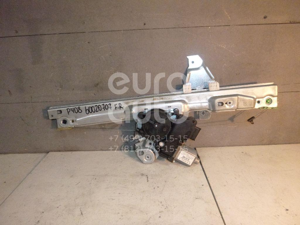 Стеклоподъемник электр. передний правый для Peugeot 408 2012> - Фото №1