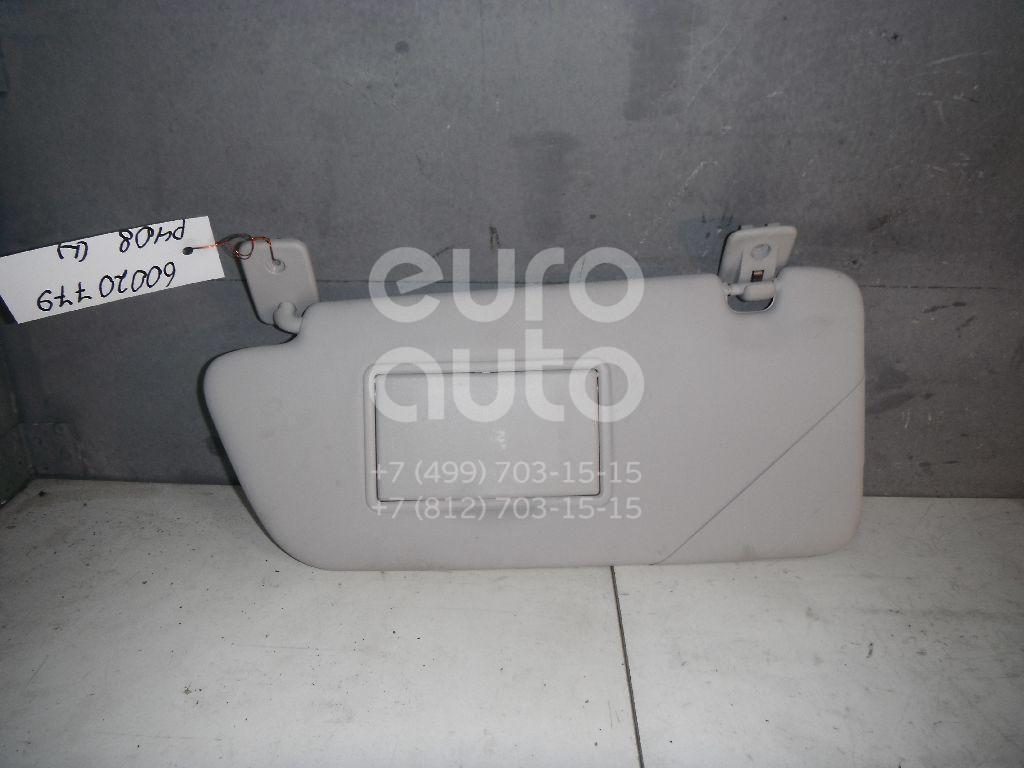 Козырек солнцезащитный (внутри) для Peugeot 408 2012>;3008 2010> - Фото №1
