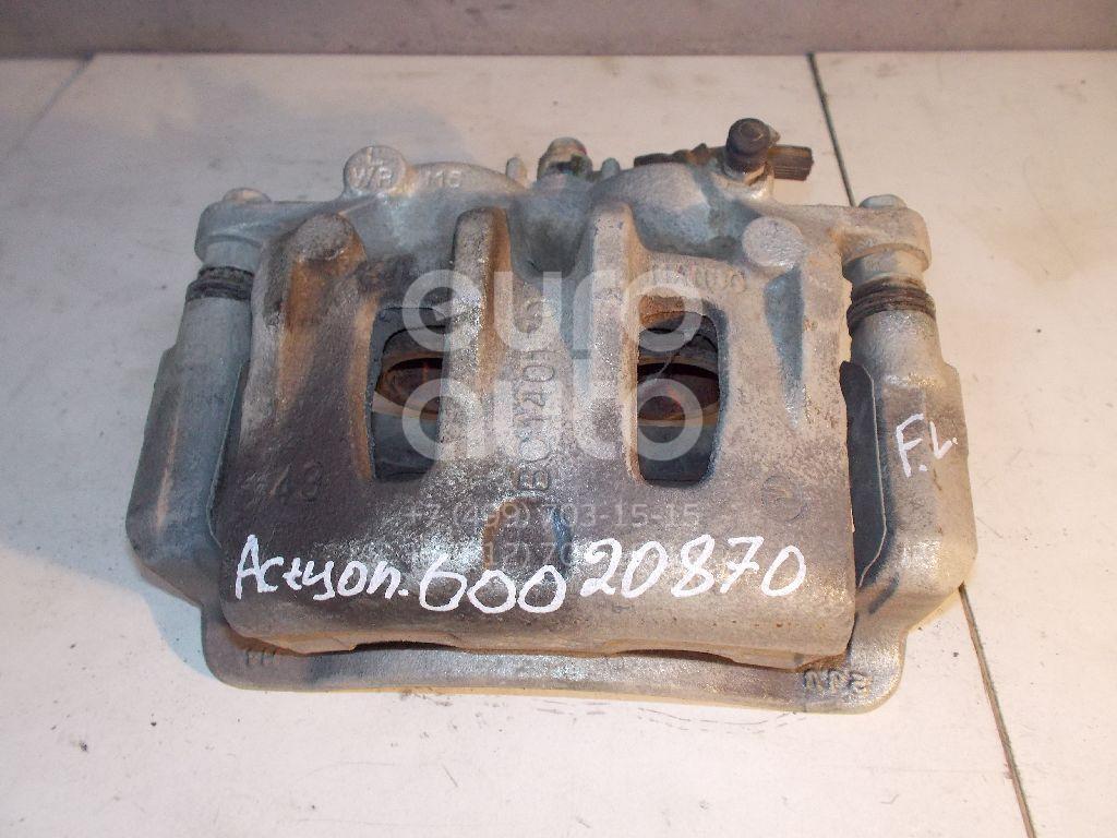 Суппорт передний левый для Ssang Yong Actyon New/Korando 2010> - Фото №1