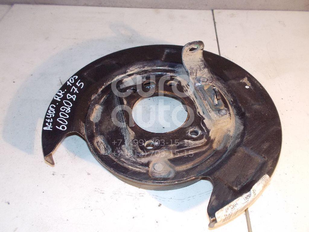 Щит опорный задний правый для Ssang Yong Actyon (New) 2010> - Фото №1