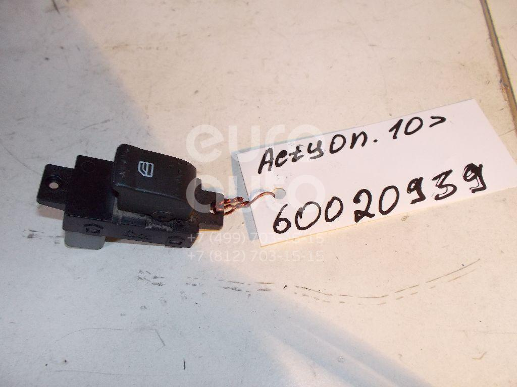 Кнопка стеклоподъемника для Ssang Yong Actyon New/Korando 2010> - Фото №1