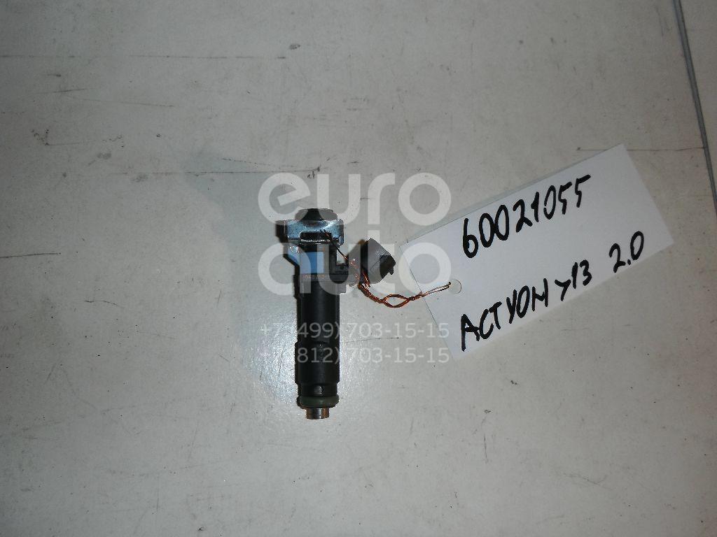 Форсунка инжекторная электрическая для Ssang Yong Actyon New/Korando 2010>;Kyron 2005-2015;Actyon 2005-2012;Actyon Sport 2006-2012 - Фото №1