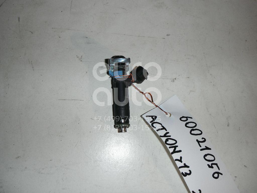 Форсунка инжекторная электрическая для Ssang Yong Actyon New/Korando 2010>;Kyron 2005>;Actyon 2005-2012;Actyon Sport 2006-2012 - Фото №1