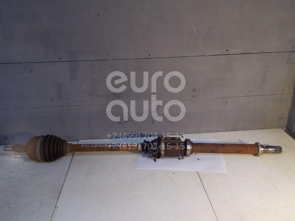 Полуось передняя правая для Renault Megane III 2009>;Fluence 2010> - Фото №1