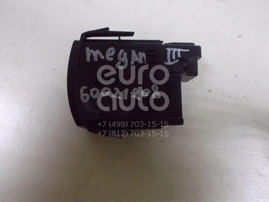 Кнопка корректора фар для Renault Megane III 2009-2016;Fluence 2010>;Latitude 2010-2015 - Фото №1