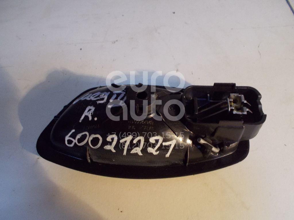 Ручка двери внутренняя правая для Renault Megane III 2009-2016;Fluence 2010>;Scenic III 2009-2015;Latitude 2010-2015;Clio IV 2012> - Фото №1