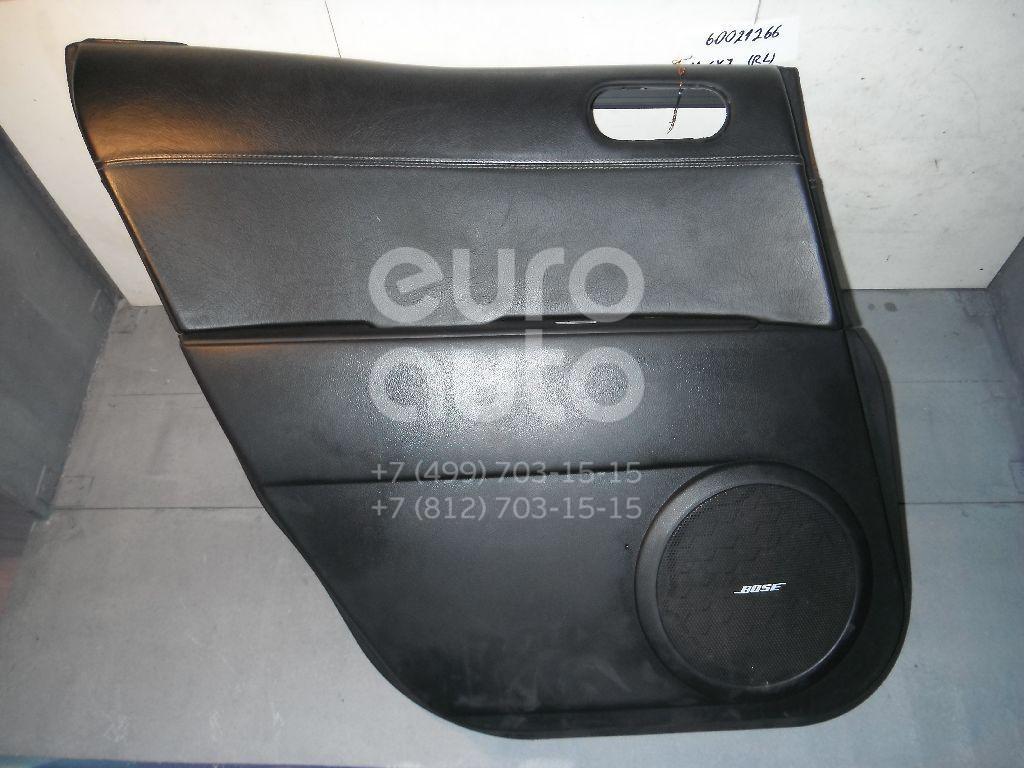 Обшивка двери задней левой для Mazda CX 7 2007-2012 - Фото №1