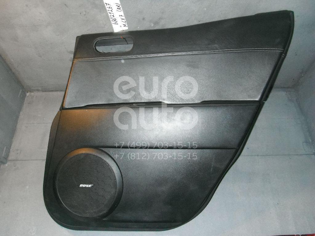 Обшивка двери задней правой для Mazda CX 7 2007-2012 - Фото №1