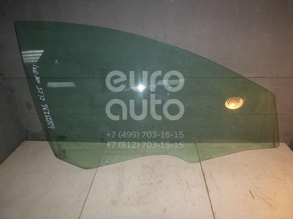 Стекло двери передней правой для Citroen C5 2004-2008 - Фото №1