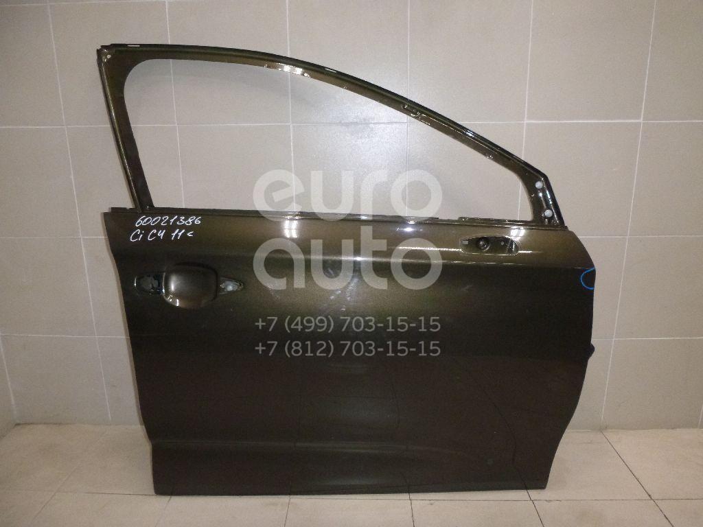 Дверь передняя правая для Citroen C4 II 2011> - Фото №1