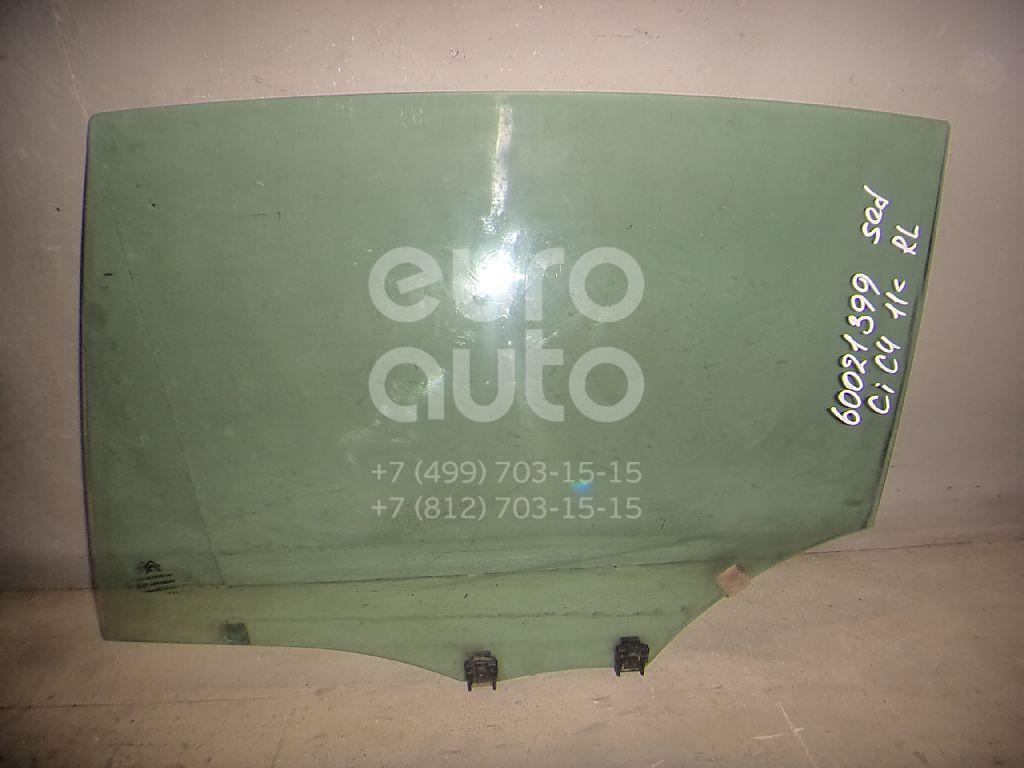 Стекло двери задней левой для Citroen C4 II 2011> - Фото №1