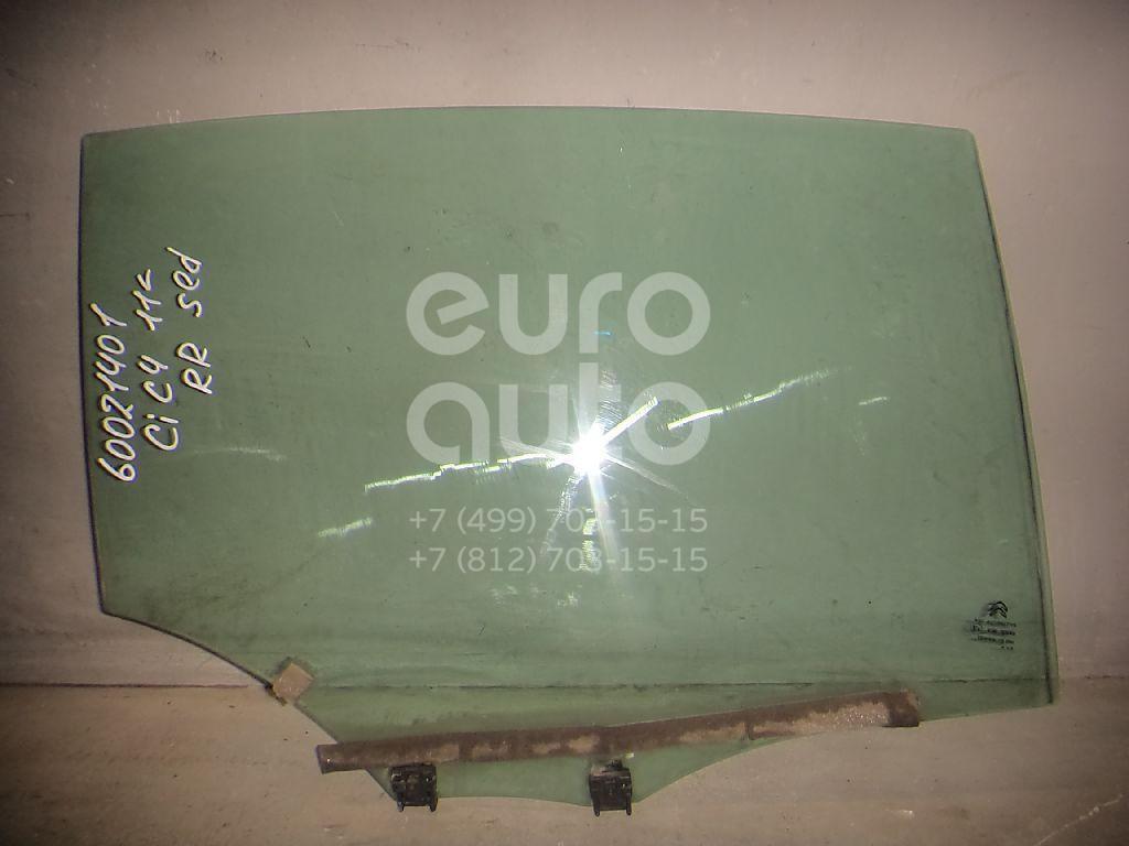 Стекло двери задней правой для Citroen C4 II 2011> - Фото №1